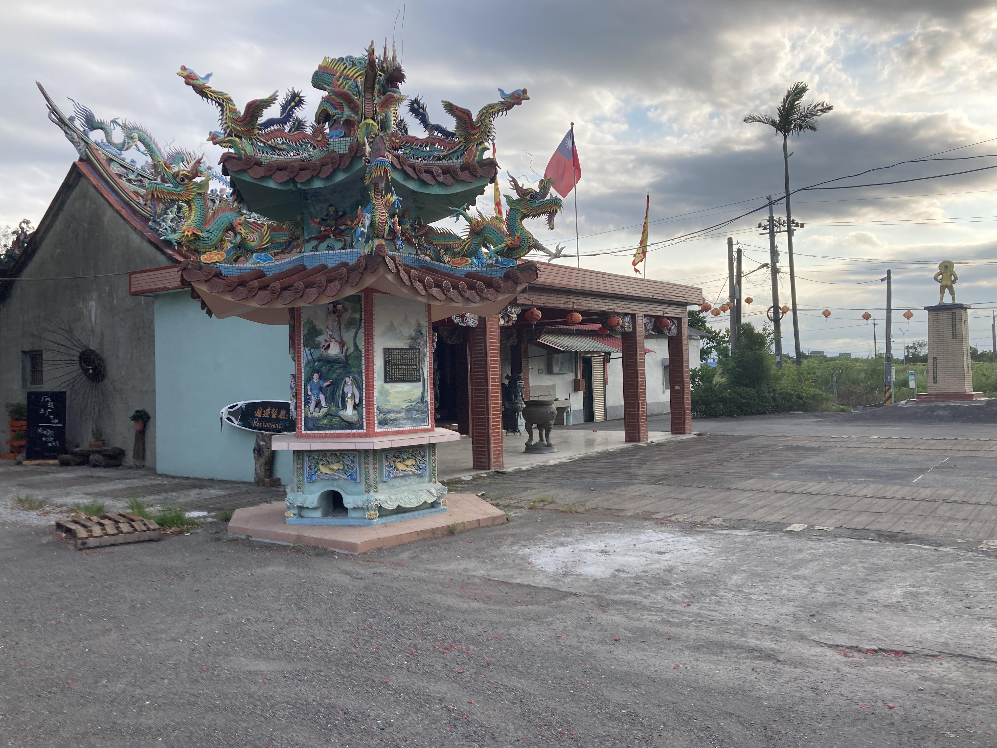圖二:壯圍東港漁師廟,到現在仍是離散大陳人的信仰聚集地/攝影:宗洧