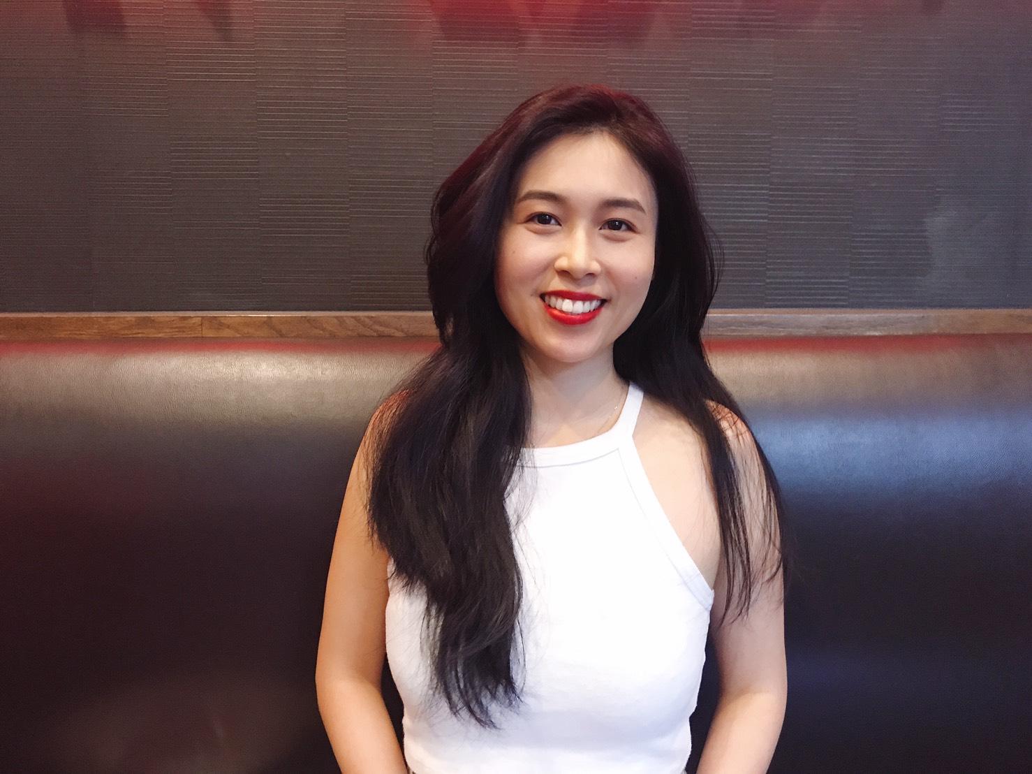 圖一:孫凡琪在2018、2019年擔任「全球青年趨勢論壇—青年接待大使」。