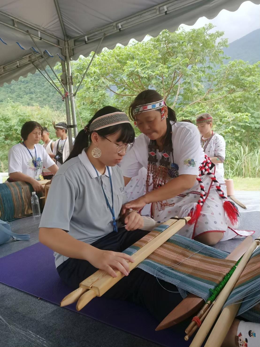 劉宸妡參與職輔計畫前往部落認識原民傳統文化