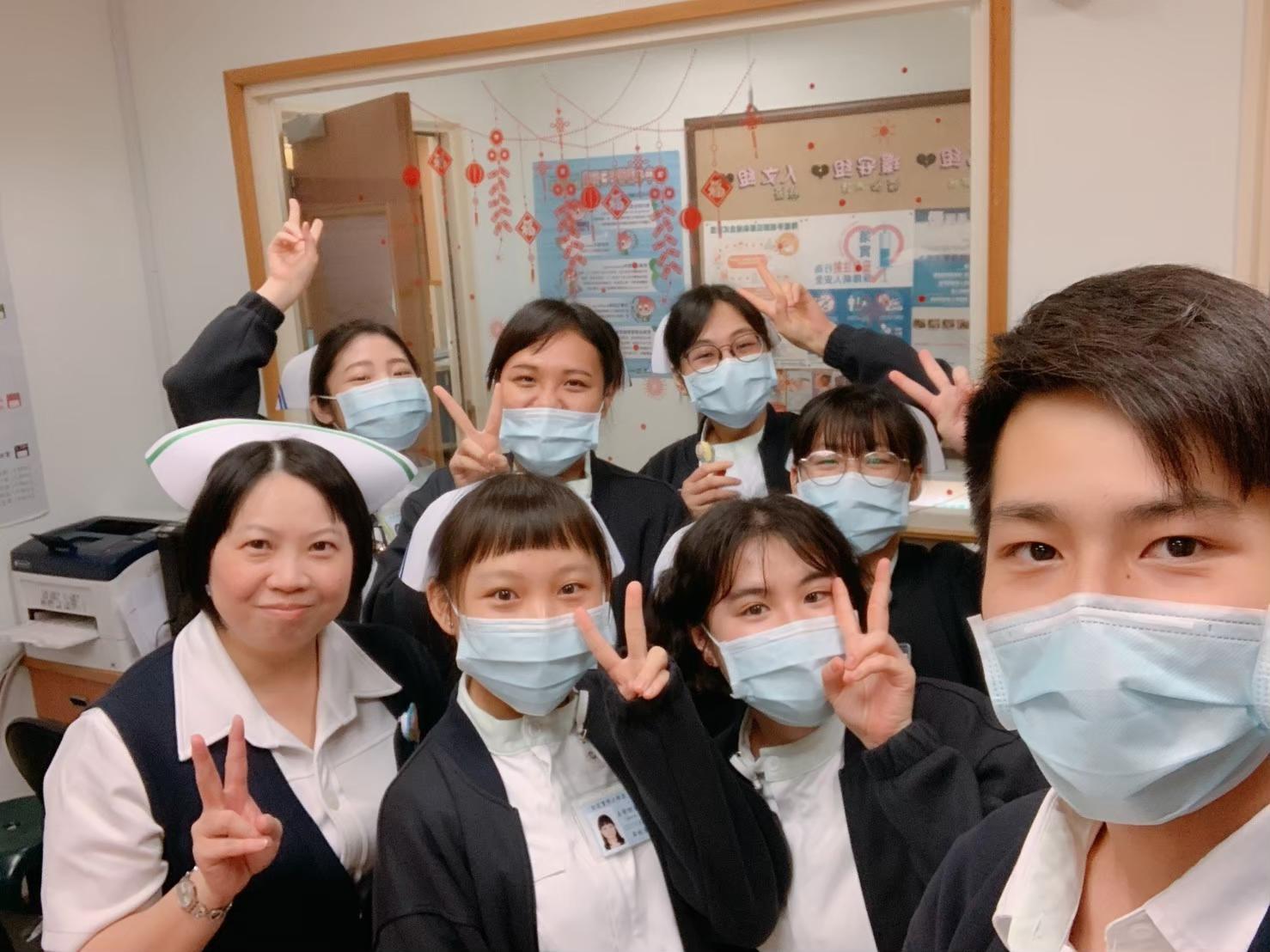 劉宸妡同學將跨文化的刺激運用在護理專業上,找出適當的照護方式