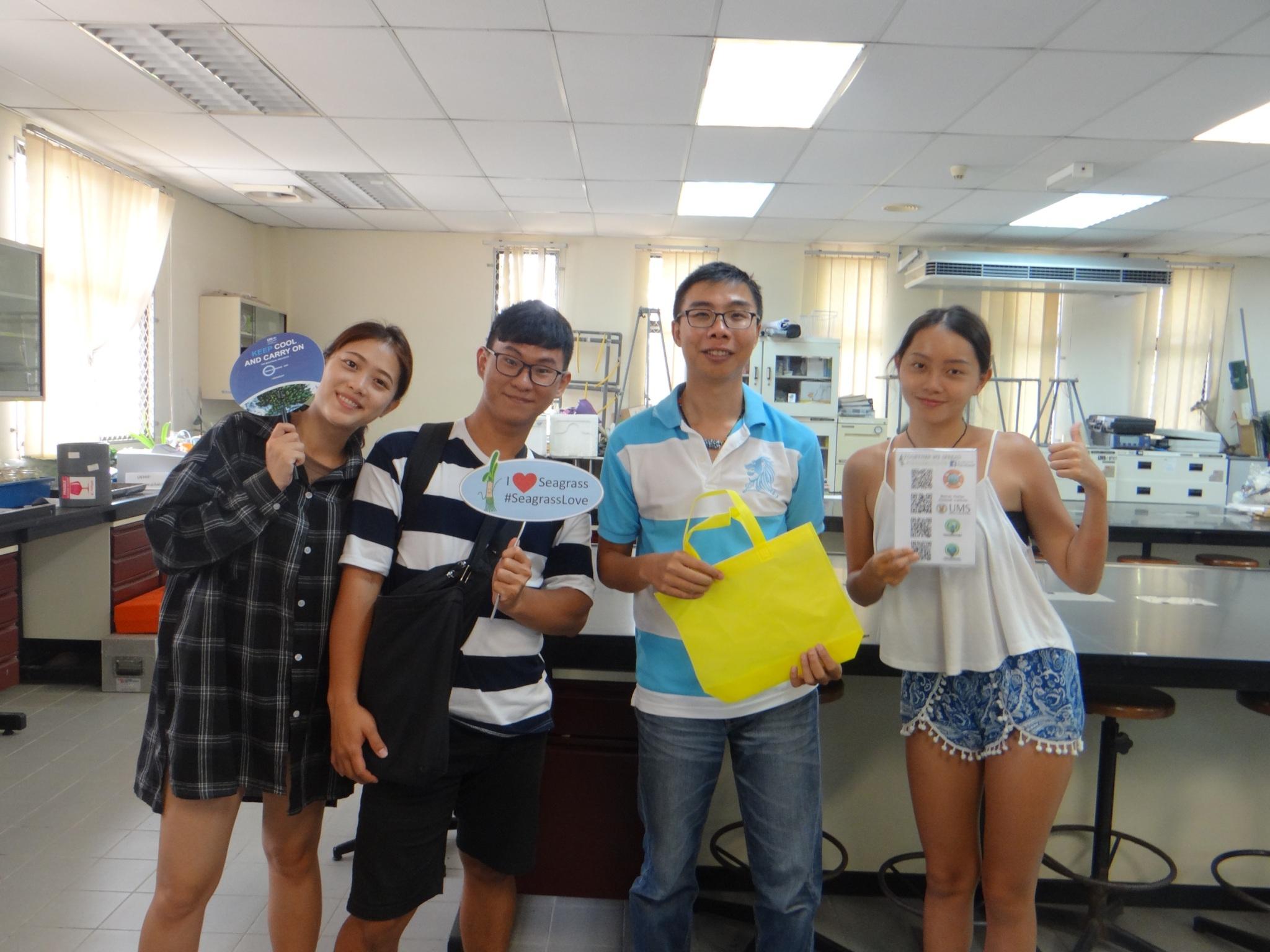 「馬上去巴,海的行動」獲得教育部青年發展署「大專校院學生國際體驗學習計畫」競賽優勝。