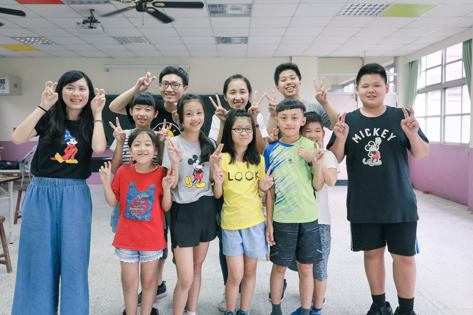 (圖一)政大教育系心理培力團隊深入臺中山區,翻轉偏鄉教育。